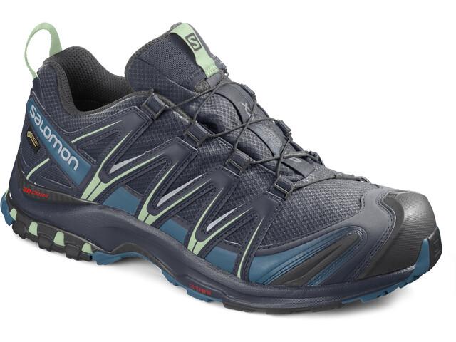 Salomon XA Pro 3D GTX Shoes Dame navy blazer/lyons blue/spruce stone